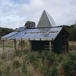 KUBE Technology™ solar panel test site - Flinders Island, Tasmania Australia