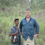 Greg inspects Moitaka Wildlife Sanctuary
