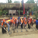 DOME KRB participated and donated to the ground breaking ceremony for a new church in the Village of Gibobada PNG